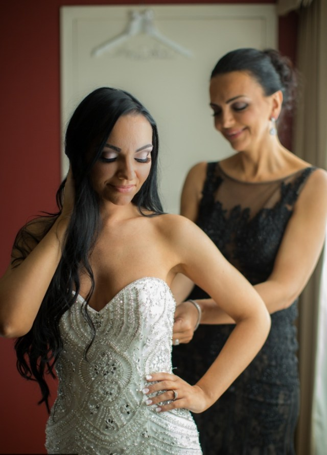 essayages de robe de mariée