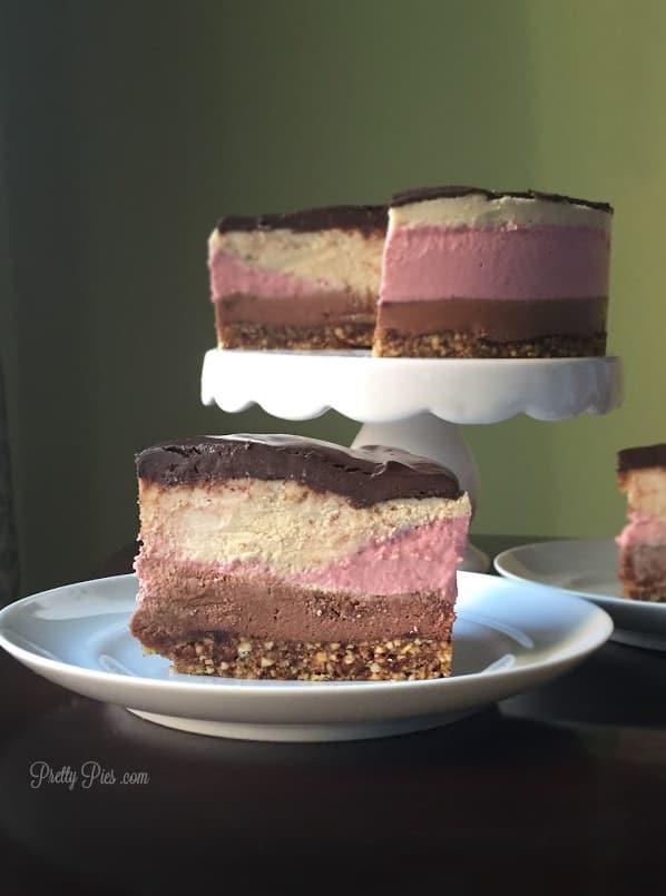Vegan Neapolitan Cheesecake