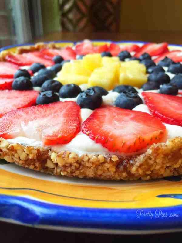 Vegan Fruit Pizza | Pretty Pies