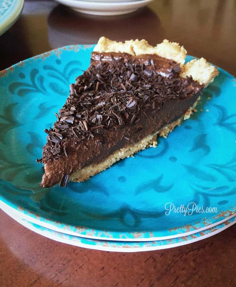 Chocolate Silk Pie   Pretty Pies