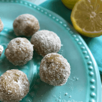 Low Carb Lemon Bites | Pretty Pies