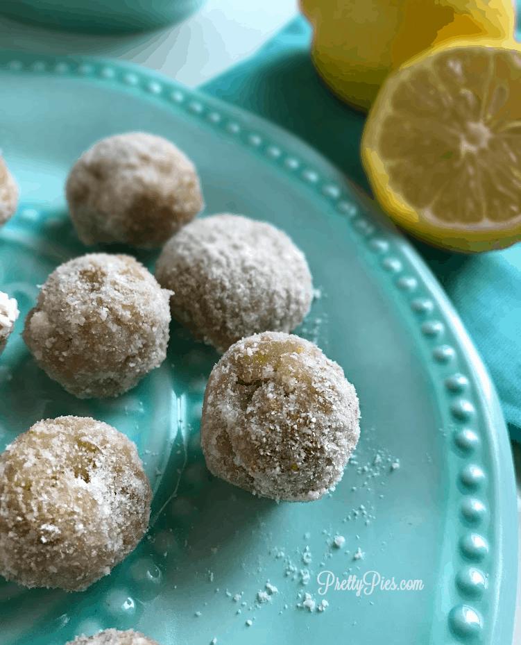 Low Carb Lemon Bites | Pretty Pies
