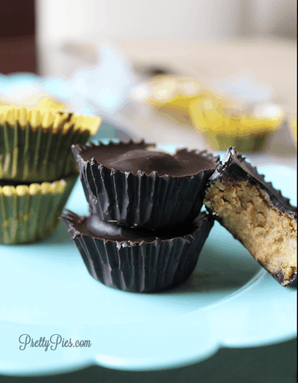Healthy Reese's (Vegan, Low Carb) PrettyPies