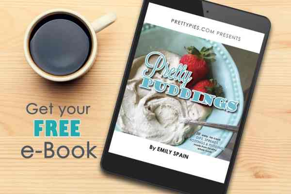 Get a free ebook from PrettyPies.com