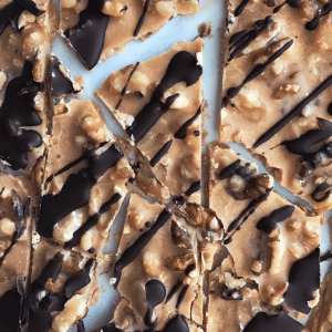 Peanut Butter Bark from PrettyPies