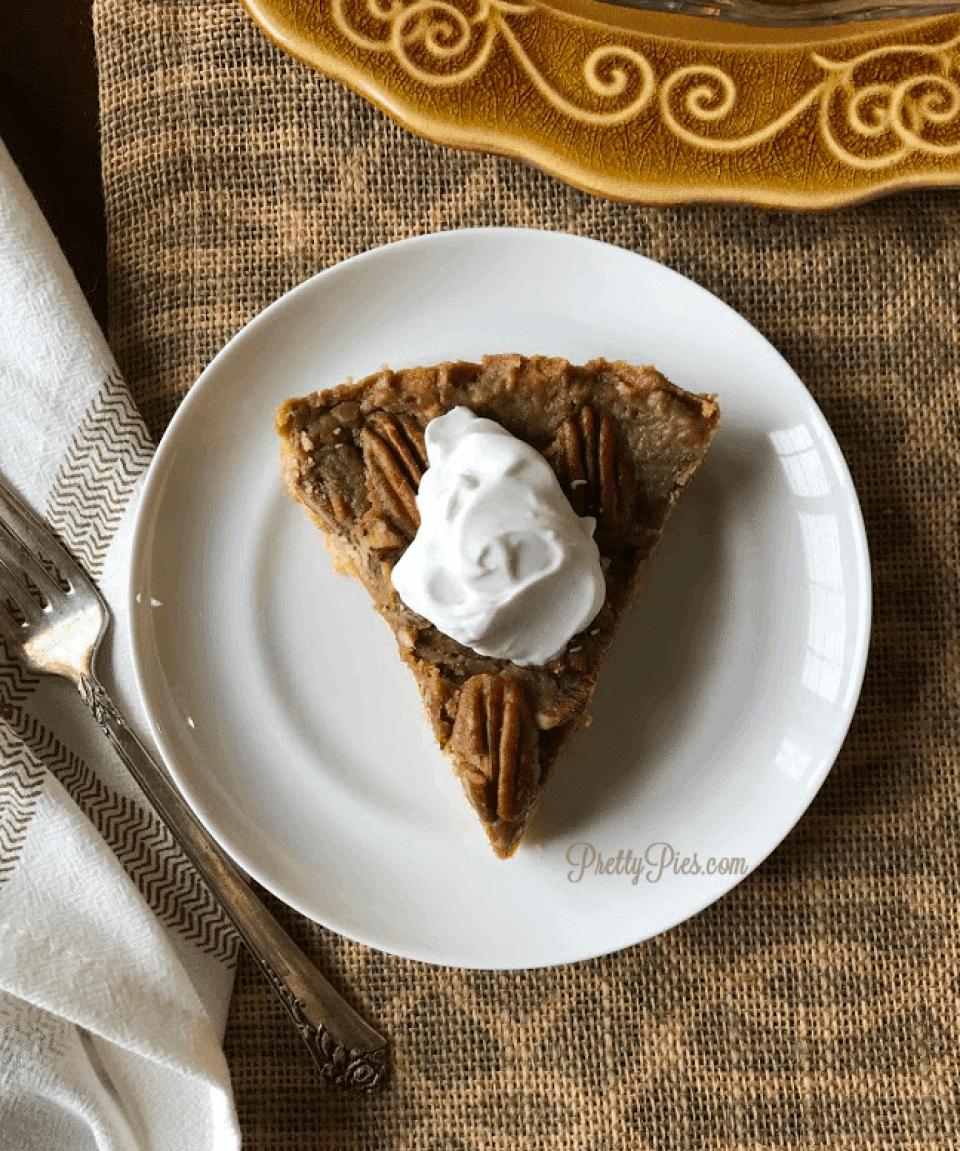 Pecan Pie {Paleo, Vegan, Gluten-Free} PrettyPies.com