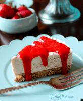 Dairy-Free New York Cheesecake (Keto, Vegan, Paleo) PrettyPies.com