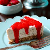 Dairy-Free Keto NewYork Cheesecake (No-Bake)