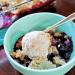 Easy Blueberry Cobbler (Vegan & Paleo) PrettyPies