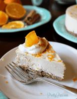Orange Spice Cheesecake (Low-Carb, Paleo, Vegan) PrettyPies.com