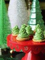 Christmas Tree Cookies (Paleo, Vegan, Keto) PrettyPies.com
