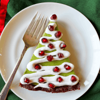 Low-Carb Christmas Tree Pie (Gluten, Dairy & Sugar-Free)