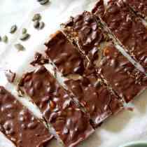 Keto Crunch Bars (Dairy-Free, Paleo, Vegan) PrettyPies.com