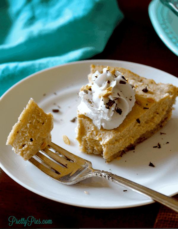 Peanut Butter Pie (Keto, Dairy-Free) PrettyPies.com