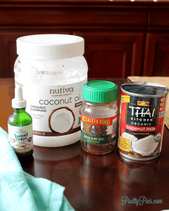 Paleo/Vegan Dessert Ingredients