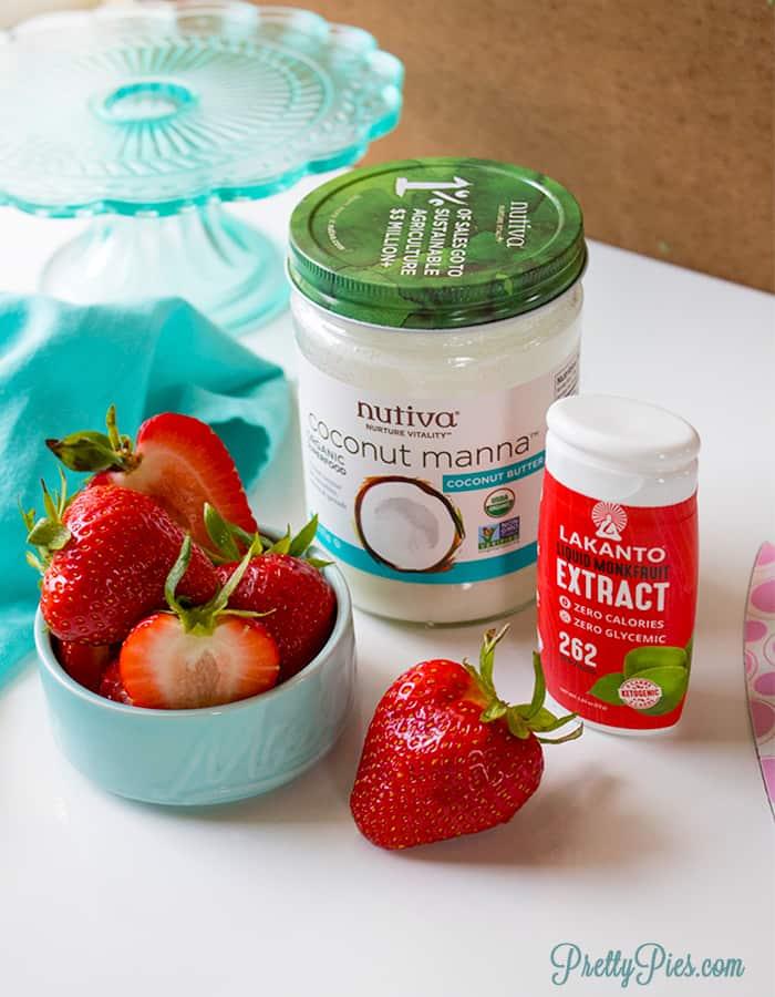 Berries & Cream Fudge (Sugar & Dairy-Free)
