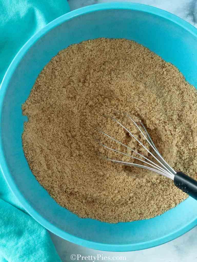 Pumpkin Bread ingredients in a bowl