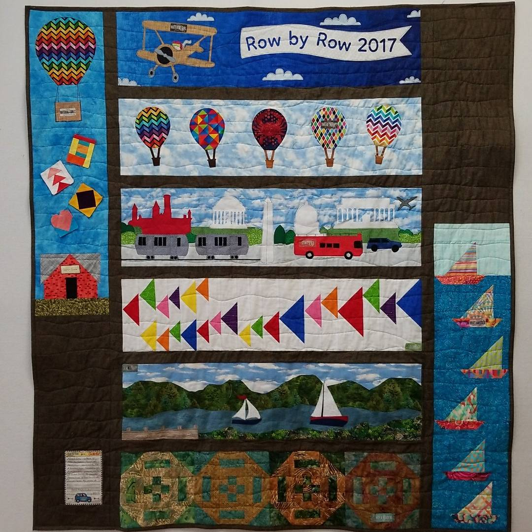 Row by Row Quilt 2017