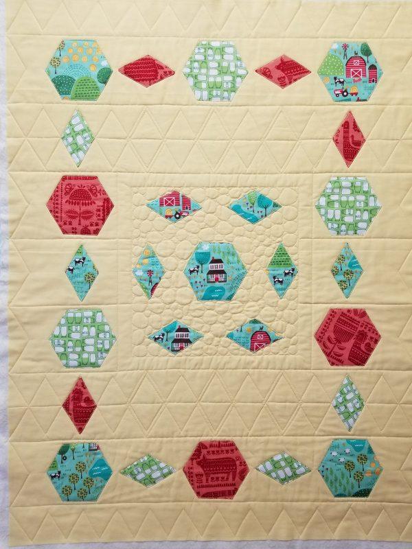 quilt challenge beginnings