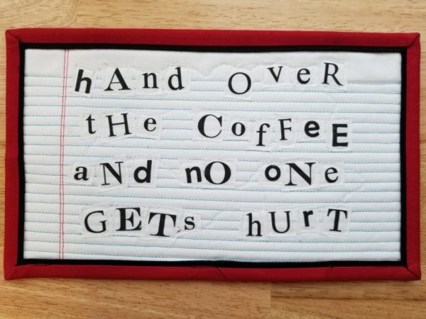 ransom mug rug coffee