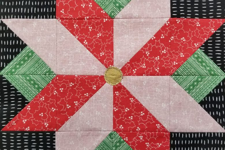 I Wish You a Merry Quilt-A-Long Block Six