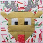 I Wish You a Merry QAL Block 9 Reindeer Games