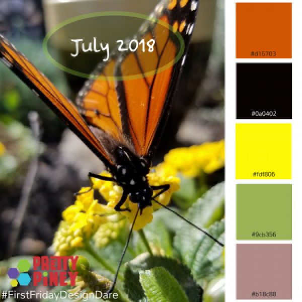 July 2018 Design Dare