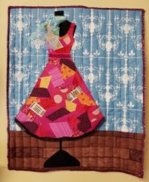 Dress Form Mini Quilt