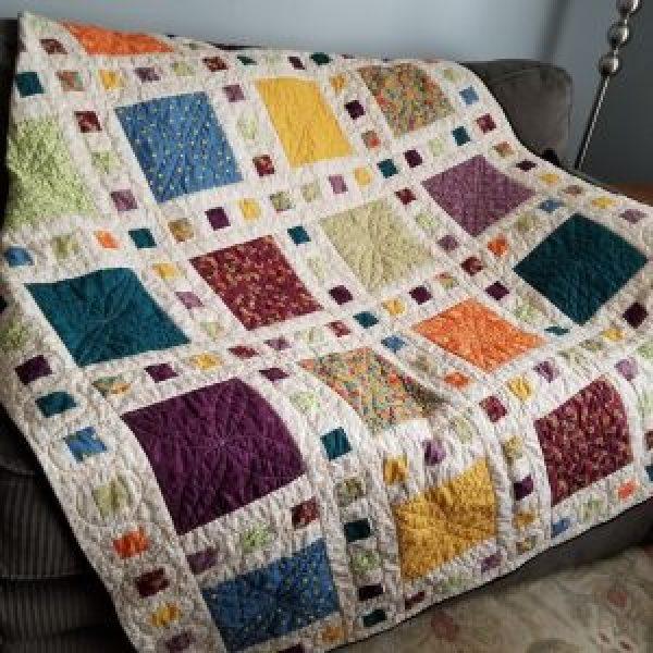 Slide Show quilt (pattern by Atkinson Designs)