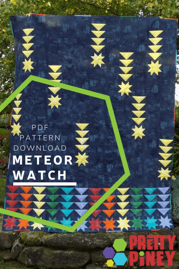 Meteor Watch Quilt Pattern Download