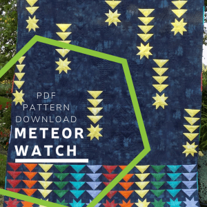 Meteor Watch Quilt Pattern Download