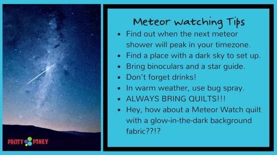 Meteor Watch Tips