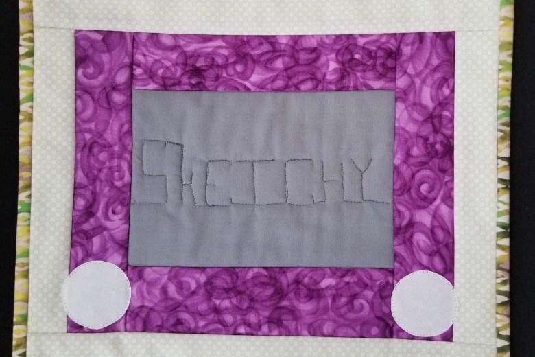 Sketchy Quilt Block