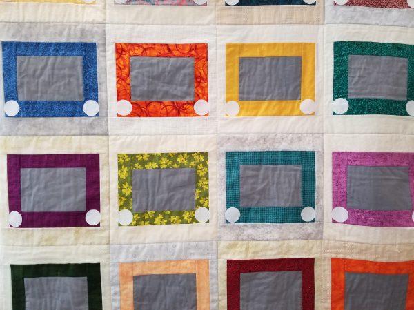 Sketchy block quilt