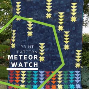Meteor Watch Print Pattern