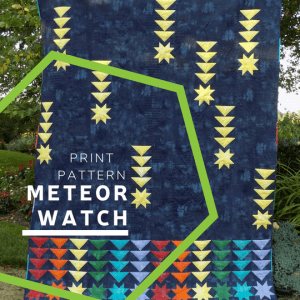 Meteor Watch Print Pattern
