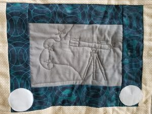 What I Made Monday Sketchy Quilt Telescope