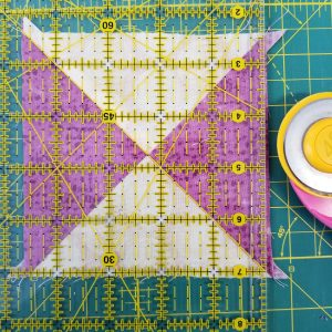 What I Made Monday Union Square Quilt Block in progress