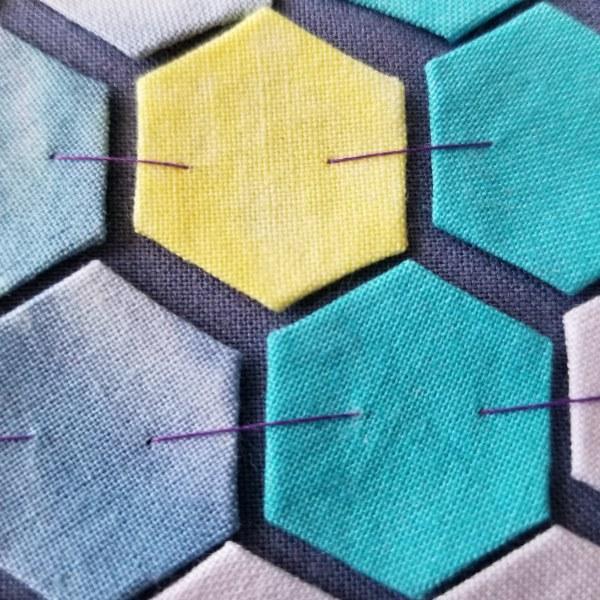 Hexie Mosaic Quilt