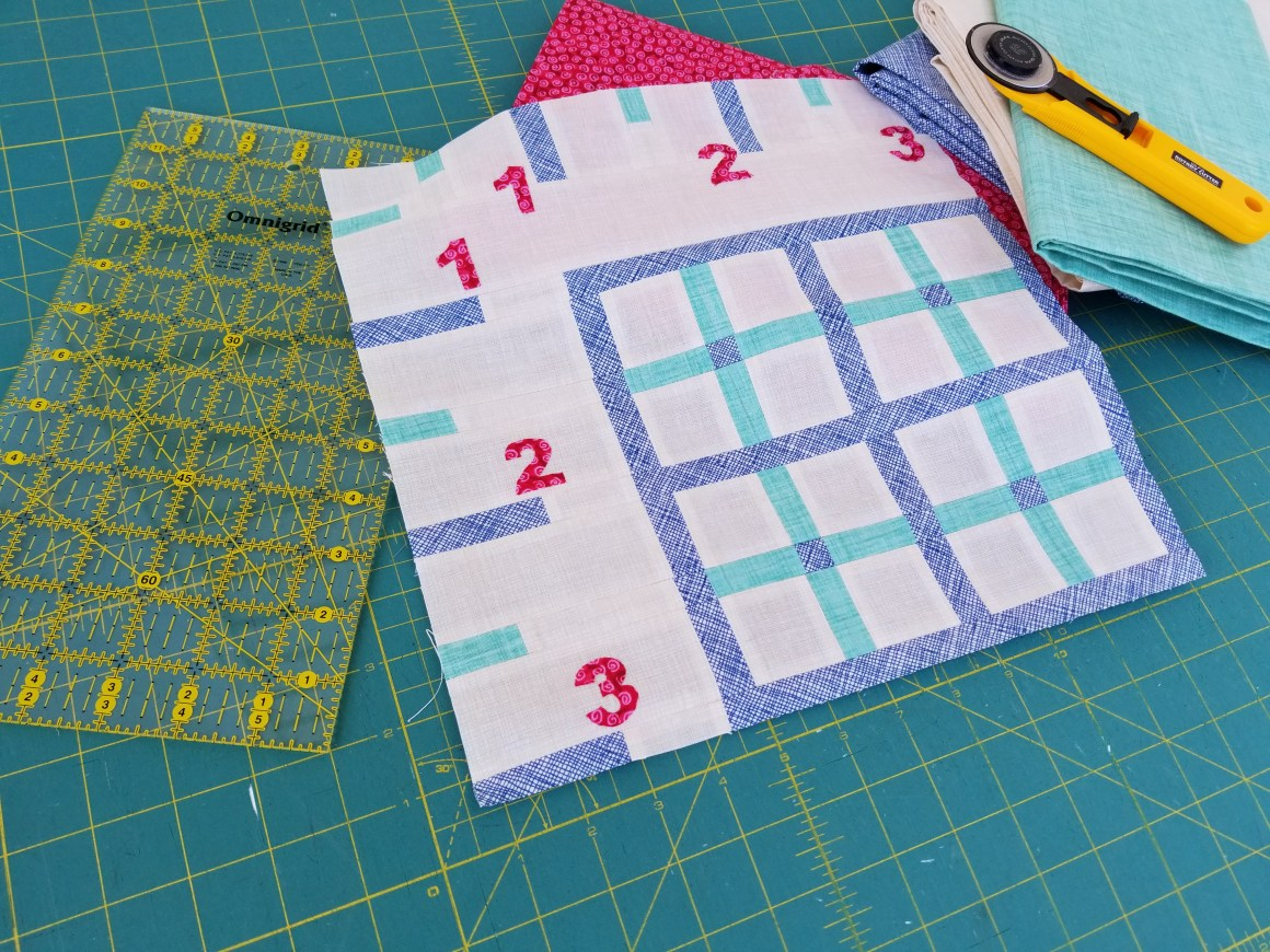 Sew Let's Quilt Along Block Three: Ruler