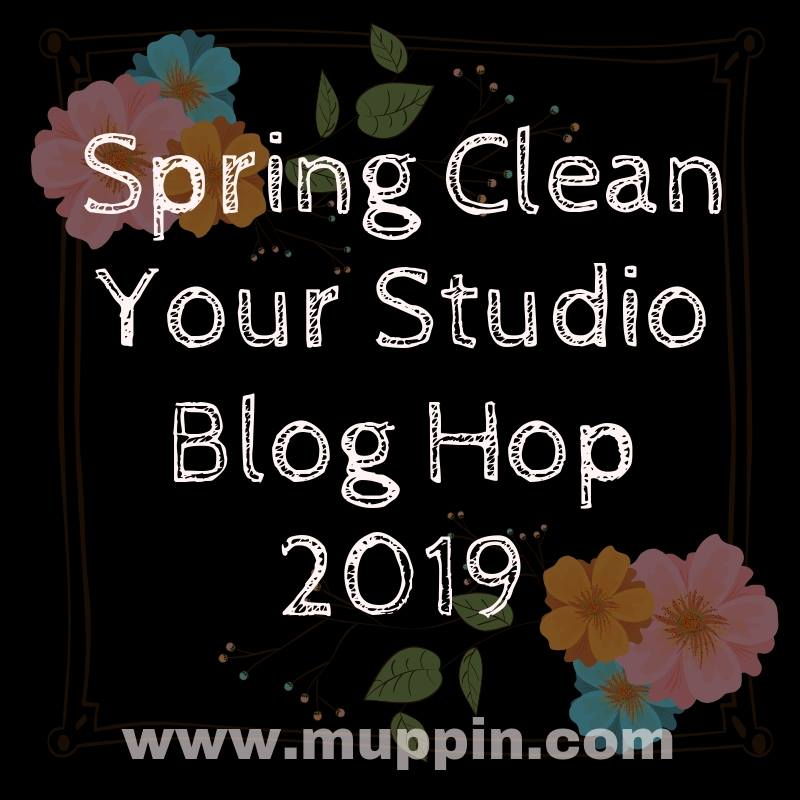 Who doesn\'t need to spring clean your studio? If you don\'t, I applaud you! But for many of us, even if we contain our creative clutter pretty well (most of the time), it helps to take a little time once in a while, step back, and figure out what isn\'t working and what could work better.