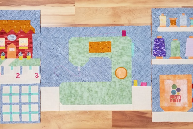 Sew Let's Quilt Along Segment One