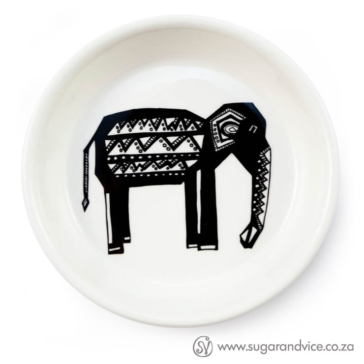 Tribal Oliphant Tapas / Trinket Bowl Sugar & Vice