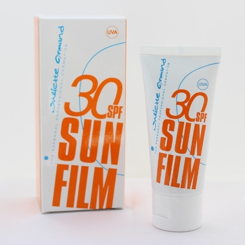 Juliette Armand SunFilm SPF30 tinted sun gel giveaway Pretty Please Charlie