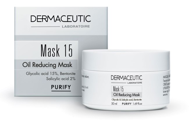 Dermaceutic mask 15 for oily skin review pretty please charlie