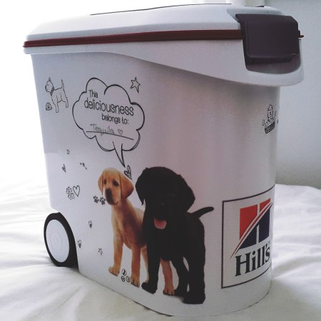 Hill's Foodie Bin for cats and dogs giveaway Pretty Please Charlie