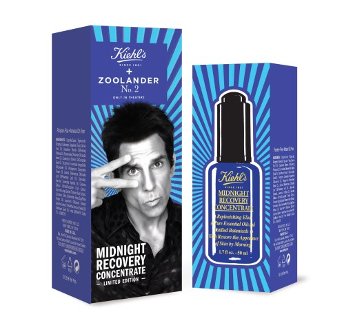 Kiehl's x Zoolander2 Limited Edition Midnight Recovery Concentrate