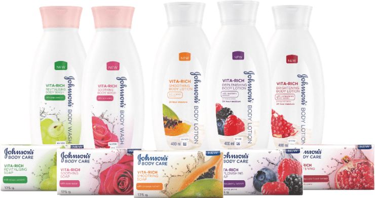 Johnson's Vita-Rich body range is the budget launch of the year