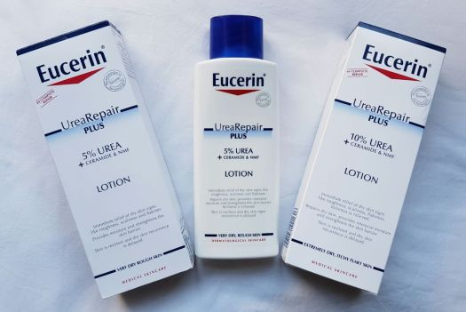 New Eucerin UreaRepair Plus lotion