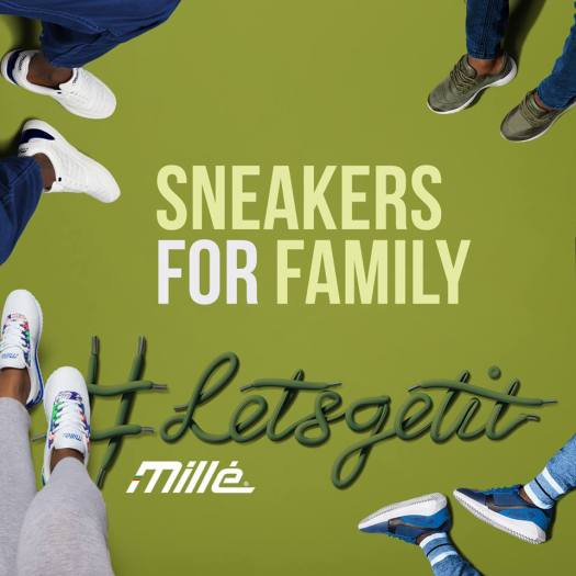 Millé sneakers for family